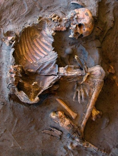 Archaeologists uncovered 20 Stone Age skeletons in the Sahara Desert.  The burials spanned thousands of years, suggesting the place was a persistent cemetery for the local people.  SO Cool!!!