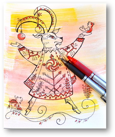 Татьяна Макарова – педагог нашей Мастерской, представляет для вас свой мастер-класс. Непростой, замысловато – волшебный! Под стать новогодним праздникам! Год Козы – это год исполнения всех желаний!...