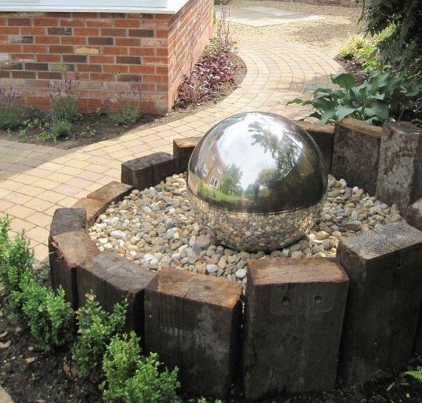 reclaimed railway sleepers garden decorating ideas backyard design