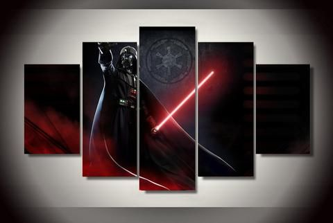 Darth Vader -Sith 5 Piece Canvas