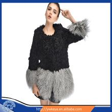 Newly Design 2015 exquisite winter graceful long style real Mongolian lamb fur coat Best Seller follow this link http://shopingayo.space