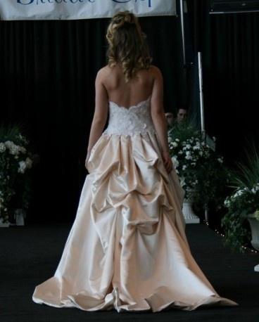Jim Hjelm Style 8664 size 8 blush bridal gowns, $900