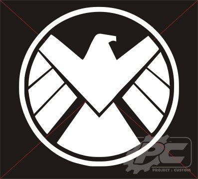 Avengers Shield Logo Vinyl Decal / Sticker
