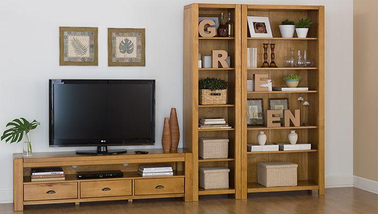 Composição para sala de estar. Tok Stok coleção Brut R$1565,00 + R$2200,00 (estante fina e rack) Confira as vantagens dos diferentes tipos de móveis para TV e descubra o mais indicado para o seu espaço e aparelhos eletrônicos.