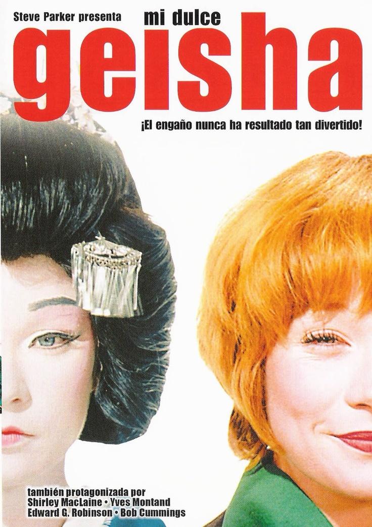 """DVD CINE 372 - Mi dulce geisha (1962) EEUU. Dir: Jack Cardiff. Comedia. Sinopse: Lucy Dell é unha popularísima actriz de comedia de Hollywood. O seu marido Paul dirixiuna en moitos dos seus grandes éxitos. Pero para probarse a si mesmo que pode facer unha carreira triunfal sen a súa esposa, Paul vaise a Xapón para dirixir unha versión de """"Madame Butterfly"""". Lucy non quere quedar fóra deste proxecto, así que se disfraza e segue a Paul ata Xapón."""