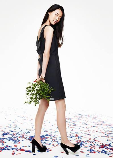 #tommyhilfiger #holiday #grey #black #smart #elegant #dress