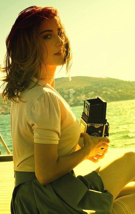 Turkish Actress, Hazal Kaya | Penti Commercial 2010.