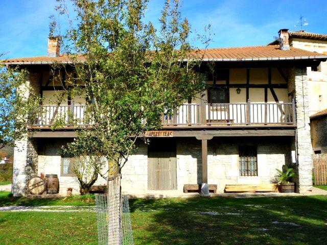 Casa Rural Apezetxea-balcon grande-arruitz-larraun-navarra