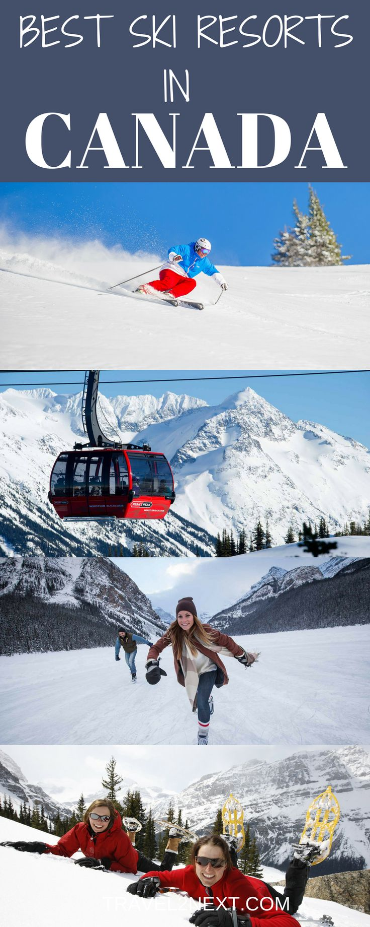 Skiing in Canada | Best Ski Resorts in Canada | Ski Canada. Canada is enormously attractive to skiers and snowboarders.