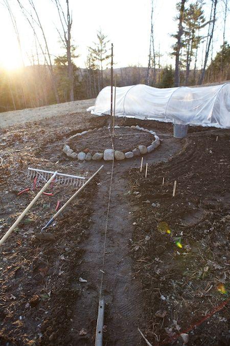 new garden layout at Chiot's Run