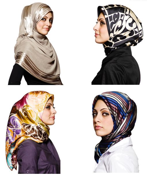 Headscarves are cultural... Here are a few Turkish style!