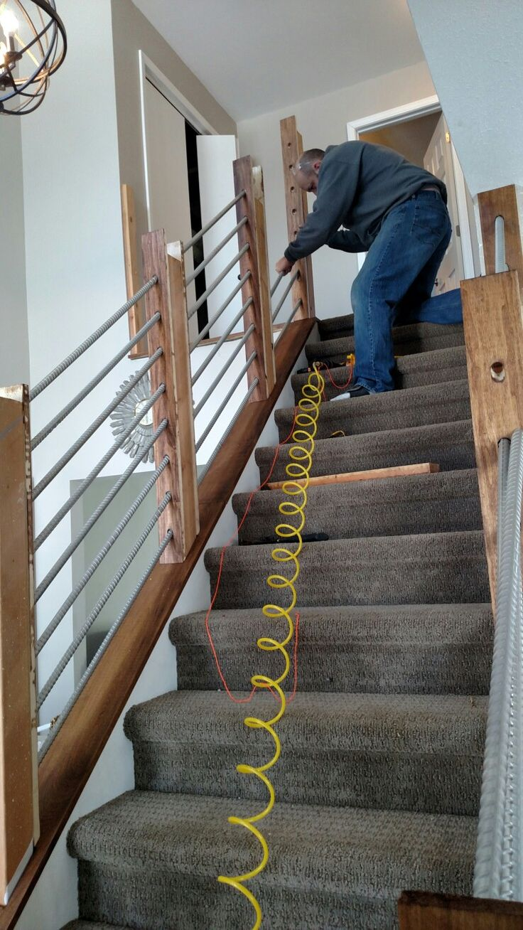 Best Making Rebar Railings Rebar Stairs In 2019 House 640 x 480