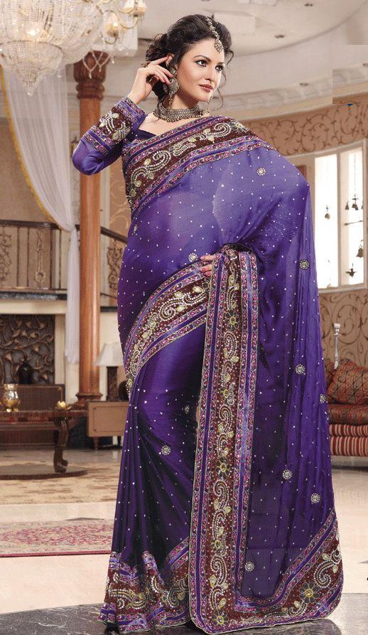 Indian wedding dress (sari)