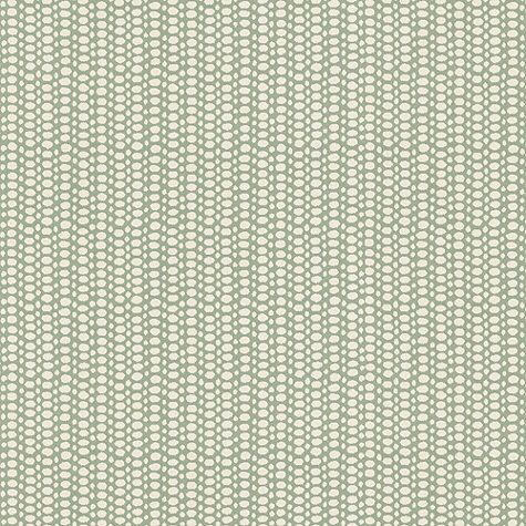 DRAPERY FABRIC 1 . Bermuda Mint/White Sunbrella® Fabric by the Yard