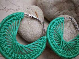 Meu Mundo Craft: Brincos em crochê I