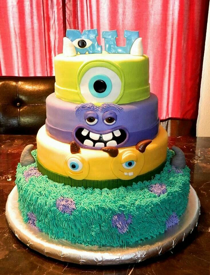 Monster's University cake Cakes by Rendy