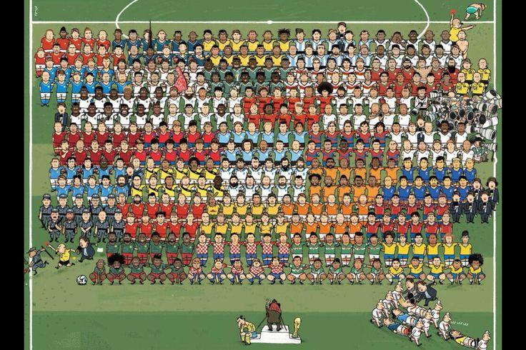 br '14 Copa do mundo, A seleção e Ilustração