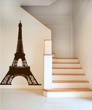 αυτοκολλητο τοιχου - Πυργος του Αϊφελ (Eiffel) Eiffel tower wall sticker - Life in the city series of wall decals...
