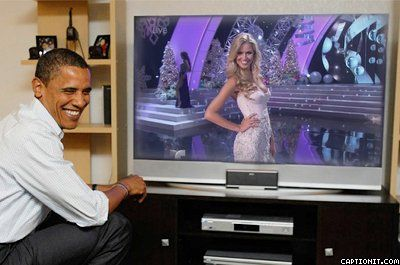 Miss Australia 2012 Renae Ayris Miss Universe 2012 Evening Gown competition watch live in US President Obama