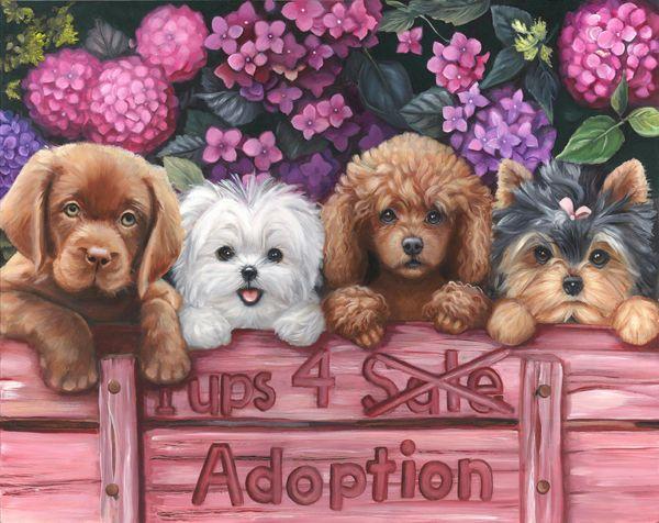 Artist - Brooke Faulder - Pets 4 Adoption