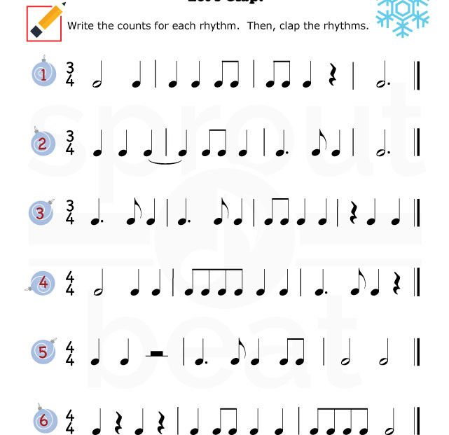 Music-Worksheets-Holidays-Rhythm-002