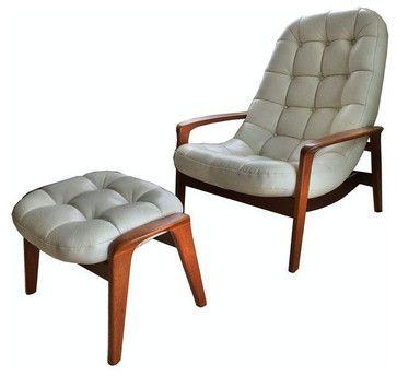 R Huber Amp Co Danish Modern Lounge Chair Chairs San