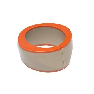 """Two Tone Bangle 