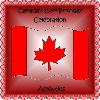 """Did you know that this year Canada is celebrating the 150th anniversary of the Canadian Confederation (July 1, 1867) ? Join in with the birthday celebrations with your students! Included in this resource is: -a list of the official symbols of Canada -a mini-project of the official symbols of Canada -""""Canada"""" acrostic template -a Canada word make sheet -creative activities, such as creating a logo, commemorative coin, and"""