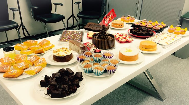 Ready, set, Bake Off! Check out our fundraising efforts, all in aid of Sport Relief.