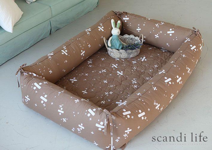 범퍼침대, 범퍼쿠션, bumper, baby bed, baby bedroom, baby bedding, bumper cushion, cushion, Scandi Life, Densfinn, scandinavian, interior