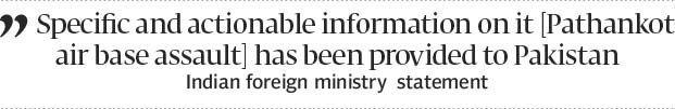 Nawaz assures Modi of prompt decisive action - The Express Tribune
