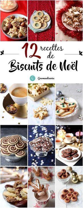 Une sélection de mes meilleures recettes de biscuits de Noël - au citron, aux épices ou encore au chocolat - A découvrir sur Gourmandiseries.fr