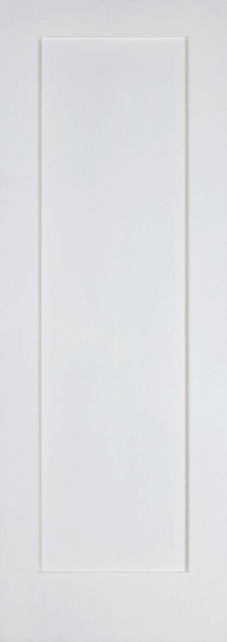1 Panel Shaker Square Top Primed Door :: Interior Solid Primed Doors :: Interior Doors and Exterior Doors | Mahogany Doors | Online Door Store