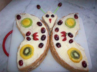 Торт винное желе вишня