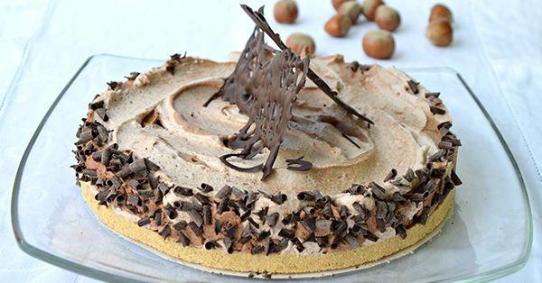 Ricetta Torta variegata al gianduia