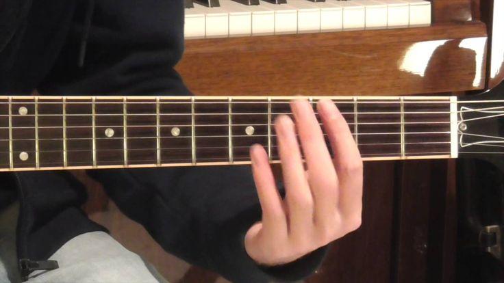 Oasis Acquiesce Guitar Tutorial