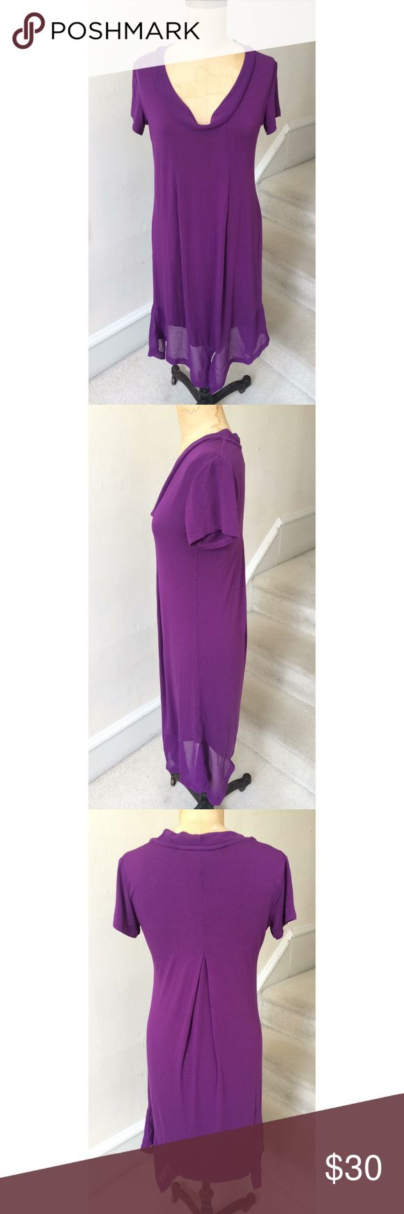 """EUC Soft Purple Dress Gorgeous color and stylishly designed dress by Serena Williams Signature Statement collection. Worn once or twice and needs a new home! Bust 15 1/2"""" waist 14 1/2"""" hips 18 1/2""""  length from underarm down is 31"""" Serena Williams Dresses"""