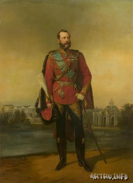Портрет императора Александра II.