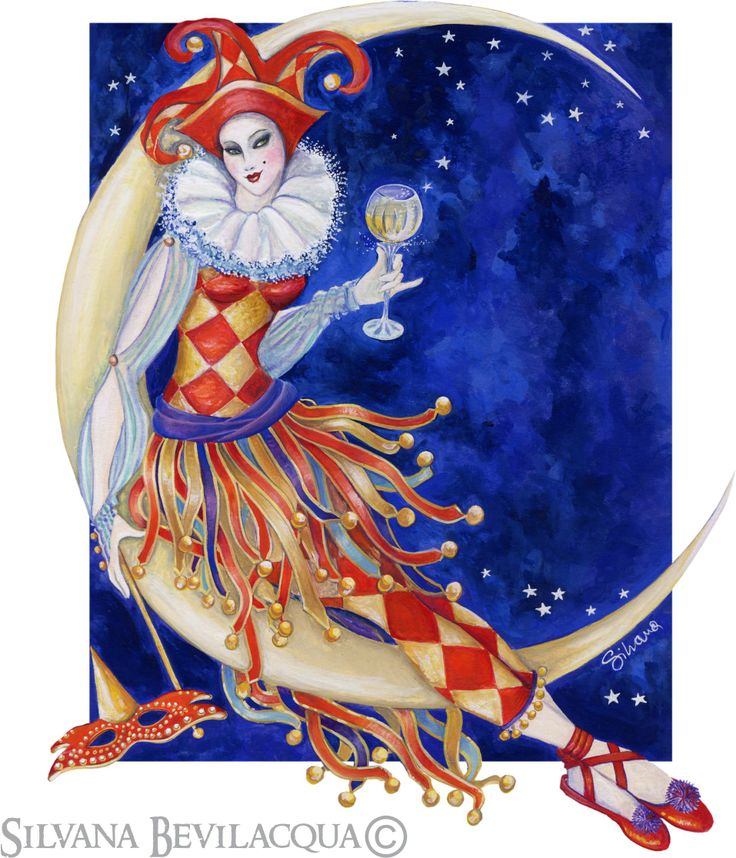 Sitting on the moon - Silvana Bevilacqua - original illustration for Gone Crackers packaging.  silvanabevilacqua.com