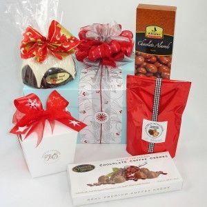 Christmas Gift Baskets 2013, Christmas Chocolate gift box for clients $87, #Auckland Gift Baskets, #Christmas Gift Baskets, #New Zealand made
