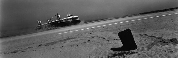 Josef Koudelka FRANCE. The Pas-de-Calais 'department'. City of Calais. 1988. Hoverport.