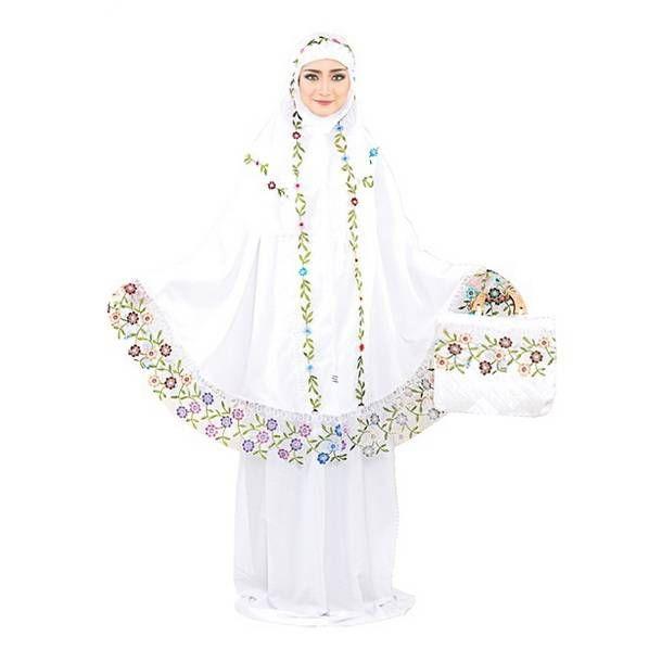 Mukena terbaru 2016 – Model mukena terbaru bahan katun warna putih yang adem dan lembut. Trend harga jual mukena terbaru 2016 murah grosir online shop...