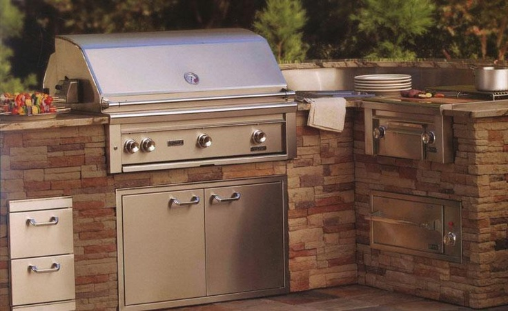 Natural Walnut Kitchen Island In Summit New Jersey: 9 Best Barbeque (Built-in) Designs Images On Pinterest