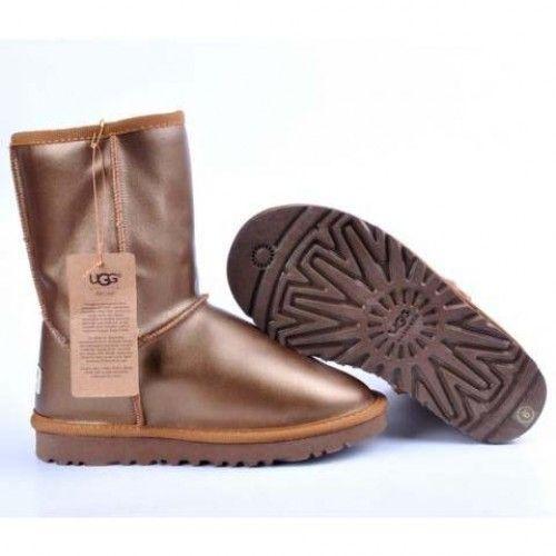 cheap ugg boots, cheap UGG Nightfall 5359, Women UGG Metallic Classic Short 5842 Golden