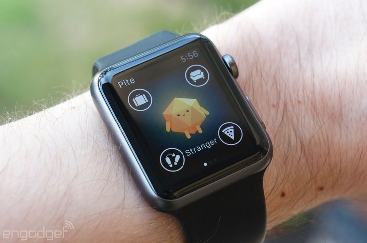 BuzzFeed's virtual pet game on the Apple Watch | #applewatch #buzzfeed #app @buzzfeed