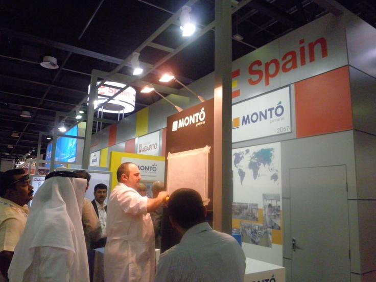 Montó Pinturas estuvo en la Feria The Big5 de Dubai presentando nuestras últimas novedades.