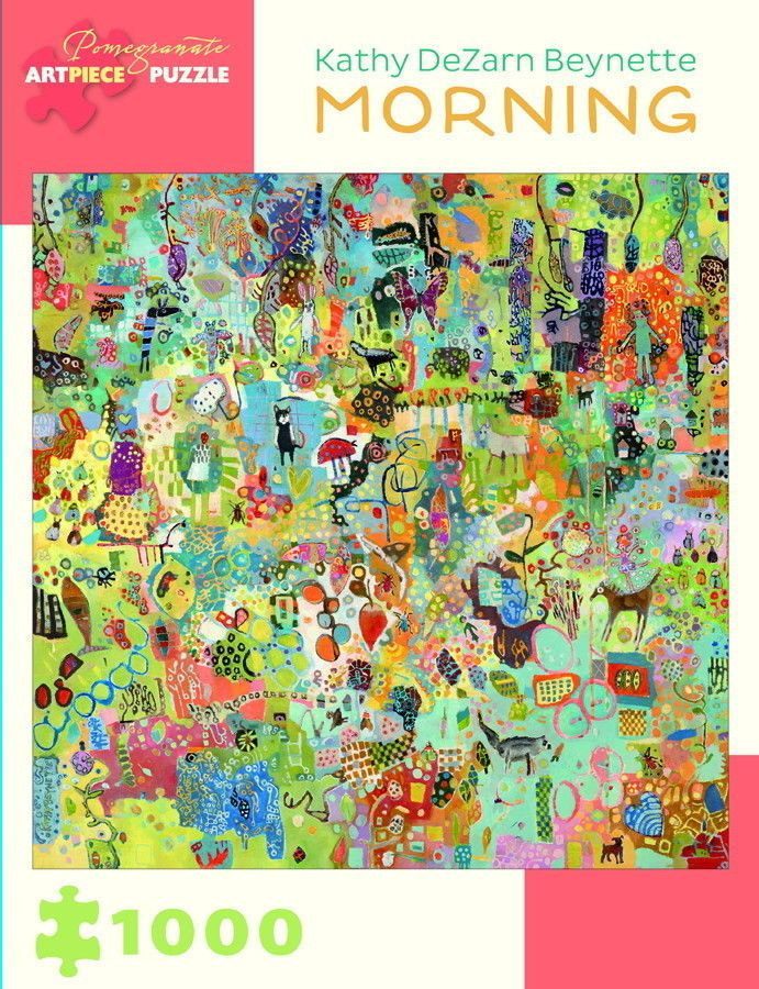Pomegranate Jigsaw - Morning by Kathy DeZarn Beynette (1000 pieces)