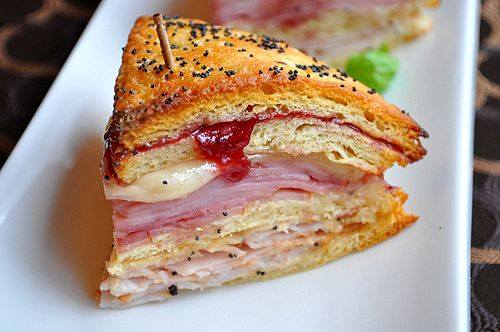 Monte Cristo...uses crescent rolls and is baked not fried. Can't wait to try this. Order Zaycon Fresh here: https://www.zayconfresh.com/?utm_source=pinterest.com&utm_medium=zaycon&utm_term=8242015&utm_content=post&utm_campaign=139