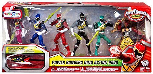 Retired Power Rangers Super Megaforce 5-inch Figure 6-Pack - Legendary Action Pack By: Bandai