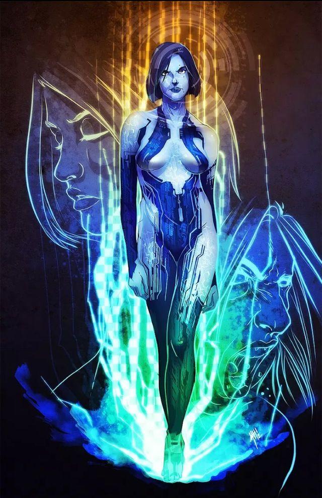 Cortana #Halo